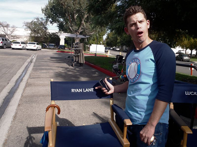 Nice Surprise. Ryan gets his own chair!